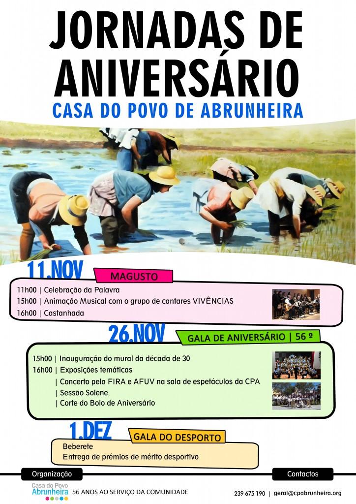 Cartaz 56 Aniversário da CPA