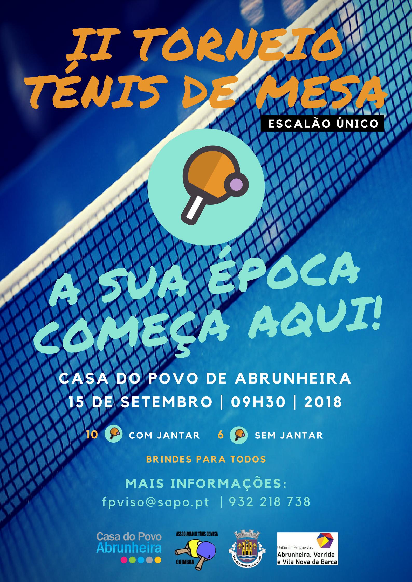 Cartaz ténis de mesa 2018 - Casa do Povo de Abrunheira - Lar de ... 5b1e5ffe7a93d